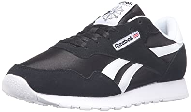 c8c5a613775 Reebok Men s Royal Nylon Classic Fashion Sneaker Black  Amazon.co.uk ...