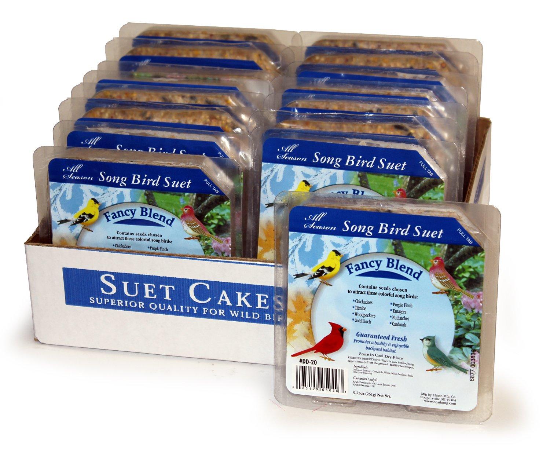 Heath Outdoor Products DD-20 Fancy Suet Cake Case of 16