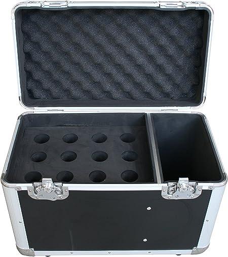 Maletín de micrófono para 12 micras.: Amazon.es: Instrumentos ...