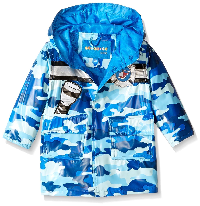 Wippette Baby Boys' Camo with Chopper Rainwear WB665039