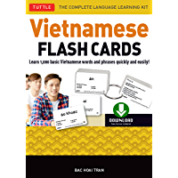 Vietnamese Flash Cards Ebook: The Complete Language Learning Kit (200 digital flash cards, 32-page Study Guide, free…
