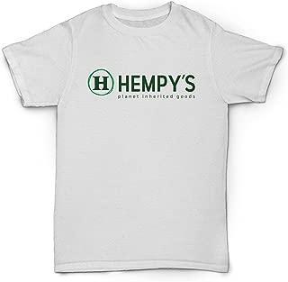 product image for Hempy's Hemp T Shirt Planet Inherited Goods White (x-Large)
