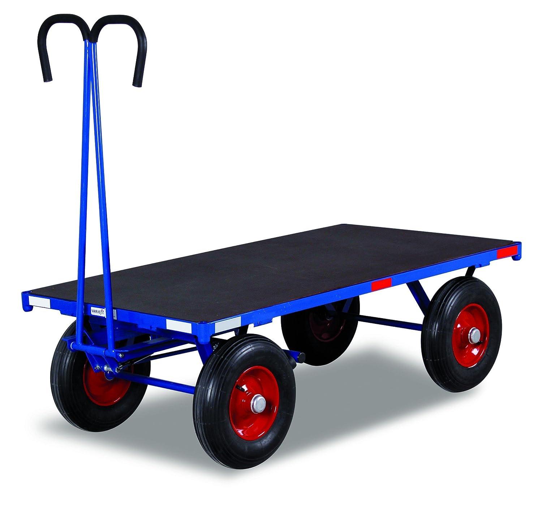 Mano camas carro sin Bord pared Carga (kg): 1000 superficie de carga: 1200 x 800 mm RAL 5010 Azul genciana: Amazon.es: Bricolaje y herramientas