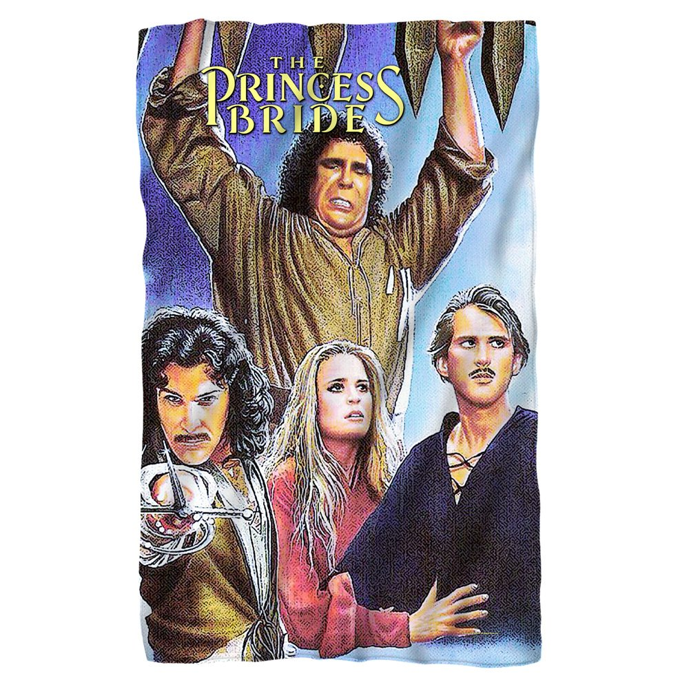 Movie Poster -- The Princess Bride -- Fleece Throw Blanket