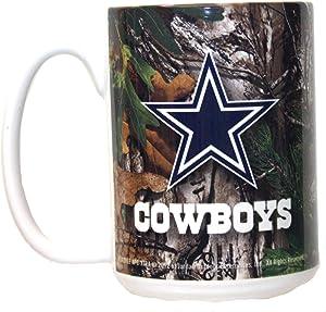 Boelter Brands Dallas Cowboys Realtree 15oz Mug