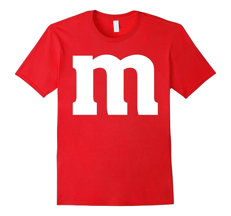 M Letter Genius Last-minute Halloween Costume Tee-T-Shirt