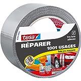 Tesa 56494-00000-00 Réparer 1001 Usages Toile Très Résistante 25 m x 50 mm Gris
