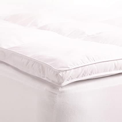 Amazon Com Superior Down Alternative Mattress Topper Pillow Top