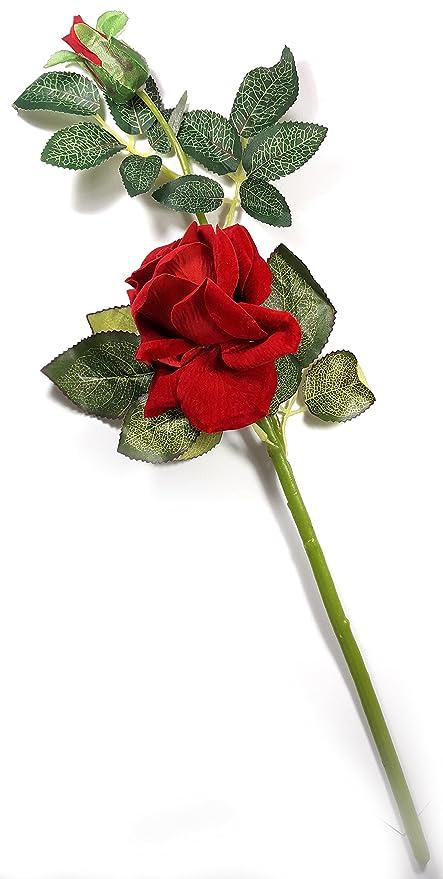 Buy Urvi Creations Rose Flower Bunch /Buke/Bouquet/ Flower Vase Best ...