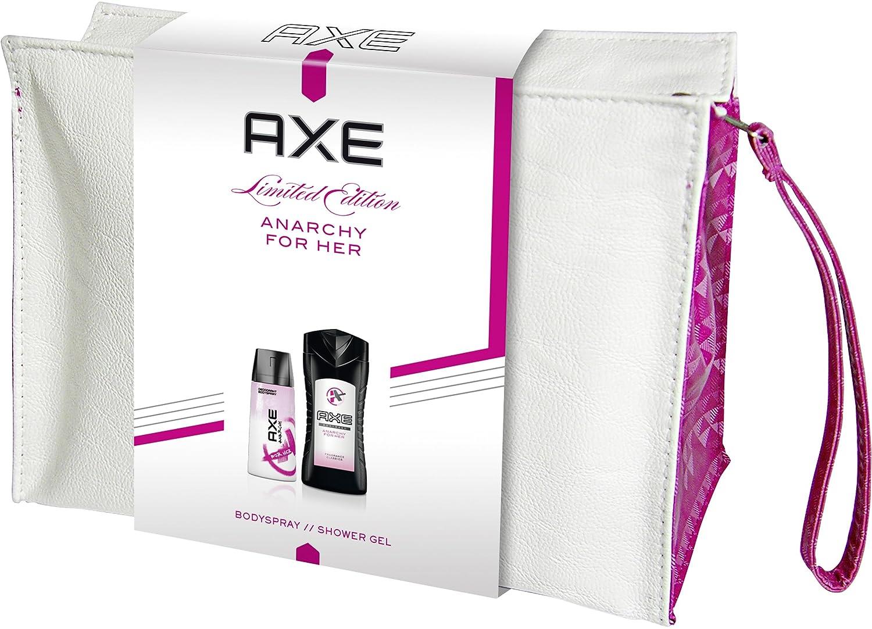 AXE Geschenkset Anarchy for Her mit Kulturtasche, 1er Pack 8710908231384