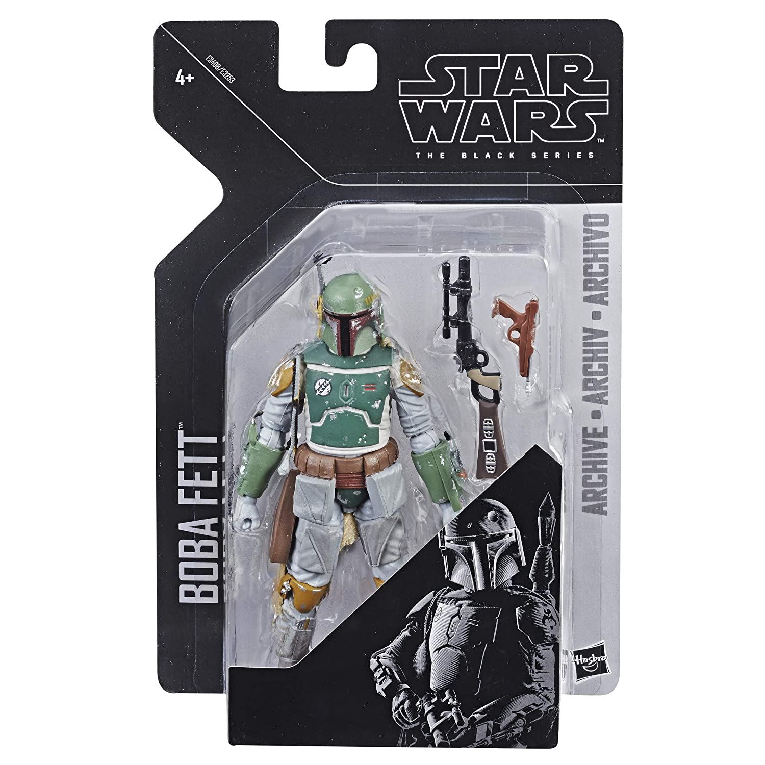 Star Wars The Black Series Archive Boba Fett Figure Hasbro E3408ES1
