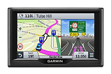 Garmin Nuvi 57LM 5 inch Satellite Navigation with UK and Ireland Free  Lifetime Maps - Black