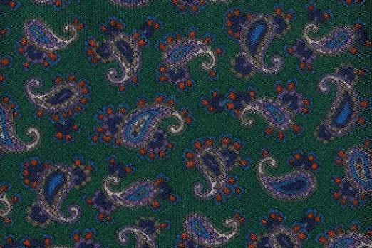 SoloGemelos - Corbata Cachemir Verde Y Azul - Azul, Verde ...