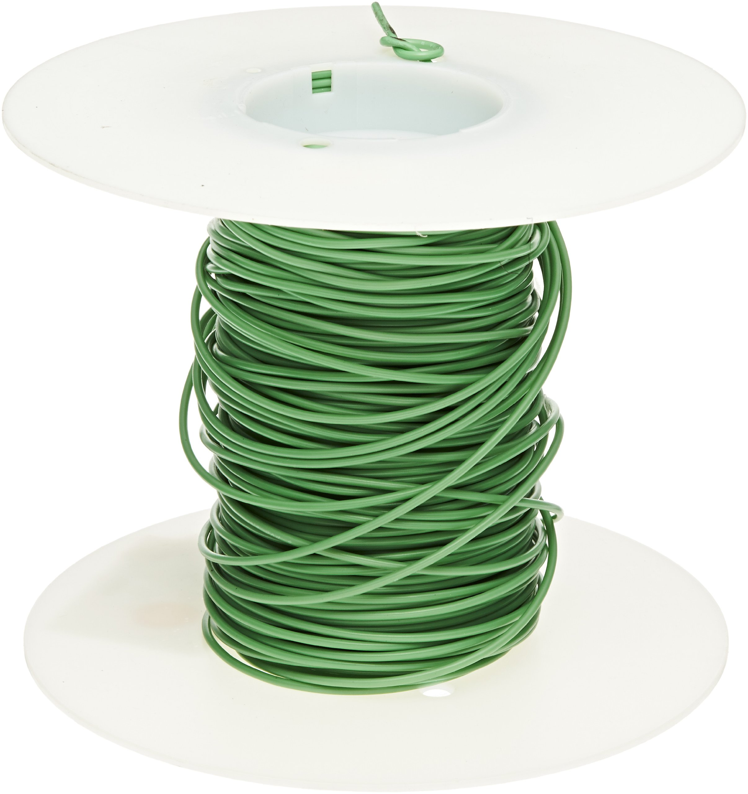 Cal Test Electronics CT2879 Test Lead Wire, 20 AWG, 10 Amp, PVC Jacket, 0.50 sq mm, 10m Length, Green by Cal Test Electronics (Image #2)