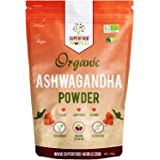 Organic Ashwagandha Root Powder 250g   All Natural Anxiety Relief, Stress Support & Sleep Aid   Fatigue, Thryroid, Adrenal & Immune Support   Herbal Ashwagandha Powder to Help Balance Energy Levels