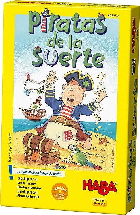 Haba - Piratas de la Suerte (302252): Amazon.es: Juguetes y juegos