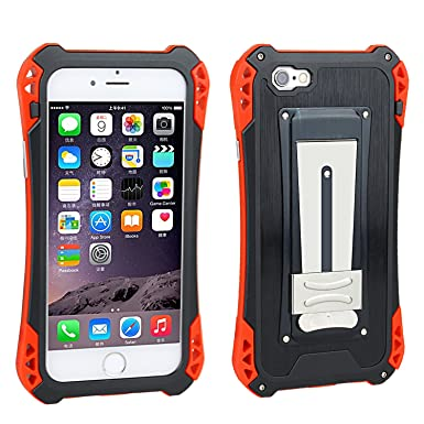 iPhone 6 Plus Funda, iPhone 6S Plus Carcasa de metal ...