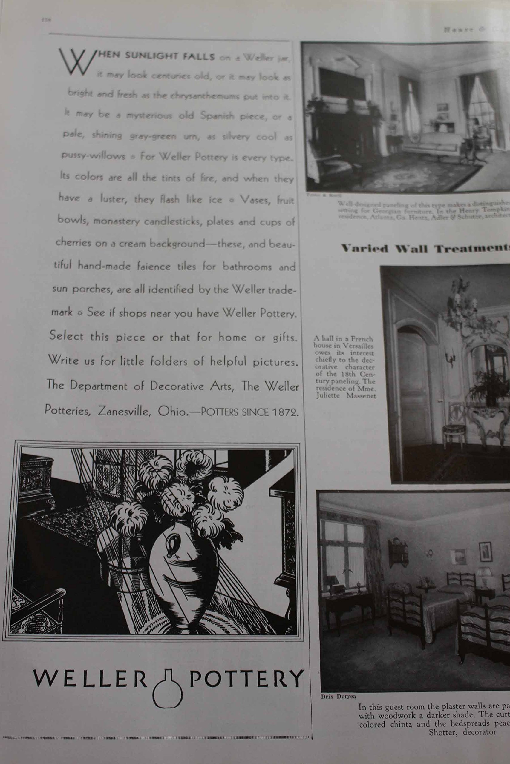 Article French Provincial Rooms And Advertisement For The French