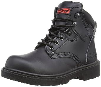 Groundwork - Calzado de protección para hombre, color negro, talla 12 UK
