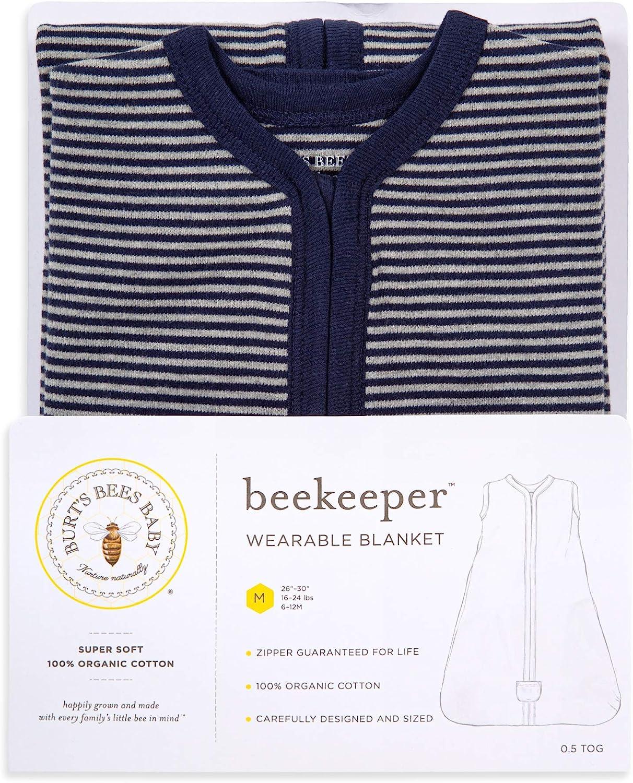 Beekeeper Wearable Blanket Burts Bees Baby Swaddle Transition Sleeping Bag 100/% Organic Cotton
