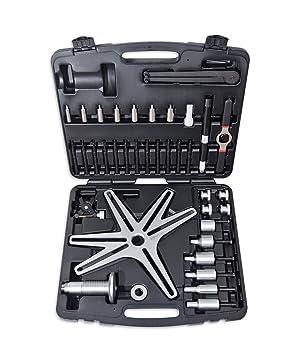 Omega Mechanix M9737 Compresor de Embrague Autoajustable (Sac), 38 Piezas: Amazon.es: Coche y moto