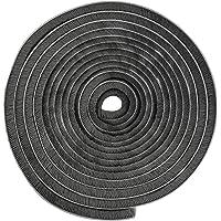 Zelfklevende borstelafdichting, 5 m, winddicht, stofdicht, afdichtingsborstel, grijs, zelfklevend, 9 x 9 mm, voor…
