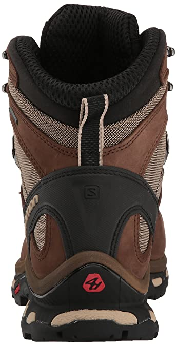 Salomon Men's Quest 4D 2 GTX Lightweight & Durable Leather Canvas Hiking Boots