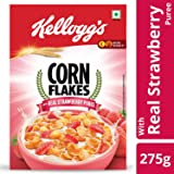 Kellogg's Corn Flakes, Strawberry, 275g