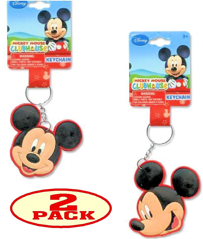Disney Mickey Mouse Llavero (Juego de 2): Amazon.es: Oficina ...