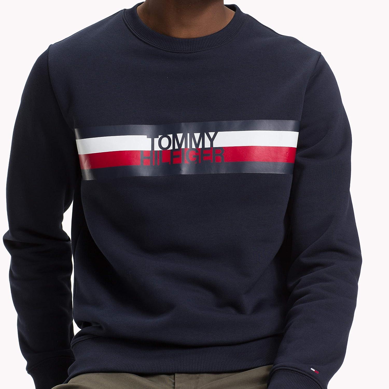 f63c27433ab364 Tommy Hilfiger Men s Tommy Logo Sweatshirt  Amazon.co.uk  Clothing