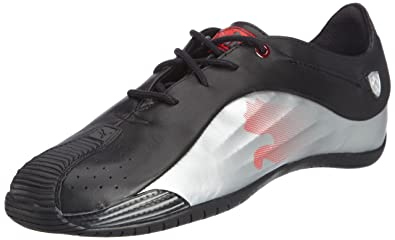 Puma Men s Kraftek SF Black and Metallic Silver Leather Safety Shoes - 11  UK India eea479d0f