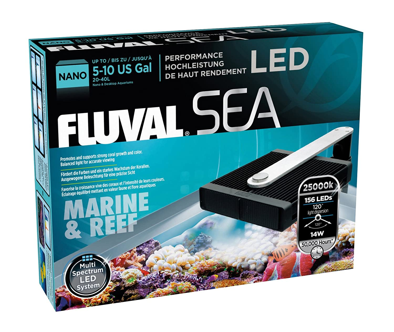 Amazon.com : Fluval Sea Nano Marine and Reef Performance LED Lamp ...