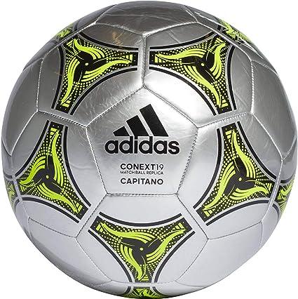 adidas Conext 19 Capitano Ball Balón de Fútbol, Unisex, Plata ...