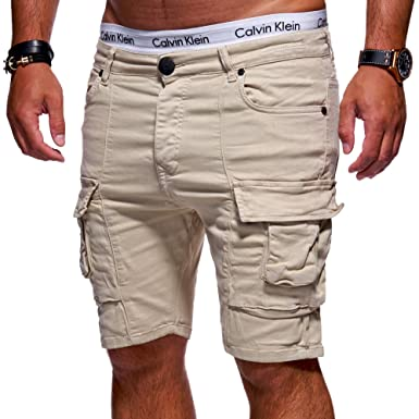 a6d3650a061218 MT Styles Herren Cargo-Shorts Slim Fit Kurze Hose Chino Bermuda JN-3243:  Amazon.de: Bekleidung