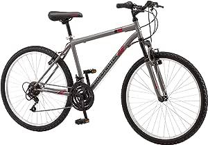 "Roadmaster 26"" Men's Granite Peak Men's Bike (Gray) (Gray)"