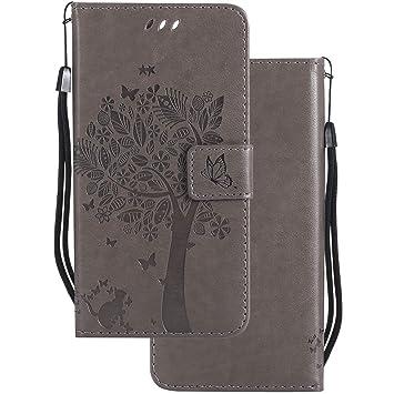 LEMORRY Carcasa para Xiaomi Pocophone F1 Funda Estuches Bolsa Piel Cuero Billetera Slim Cover Protector Magnética Suave TPU Silicona Tapa Funda para ...