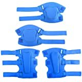 Innovative Soft Kids Knee and Elbow Pads with Bike