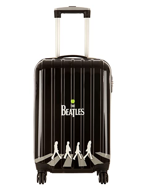 Les Beatles by Platinium Trolley 4 Ruedas Abbey Road Negro: Amazon.es: Zapatos y complementos