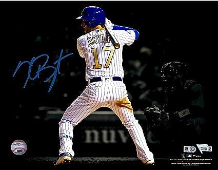 newest collection e4bea 6802b Kris Bryant Chicago Cubs Autographed 11