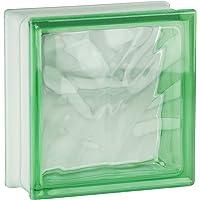 5 piezas FUCHS bloques de vidrio nube verde