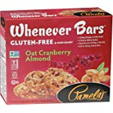 Pamela's Products Gluten Free Whenever Bars, Cranberry Almond, 7.05 Ounce