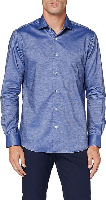 Cortefiel Liso Nat Stretch Camisa Casual para Hombre: Amazon.es: Ropa y accesorios