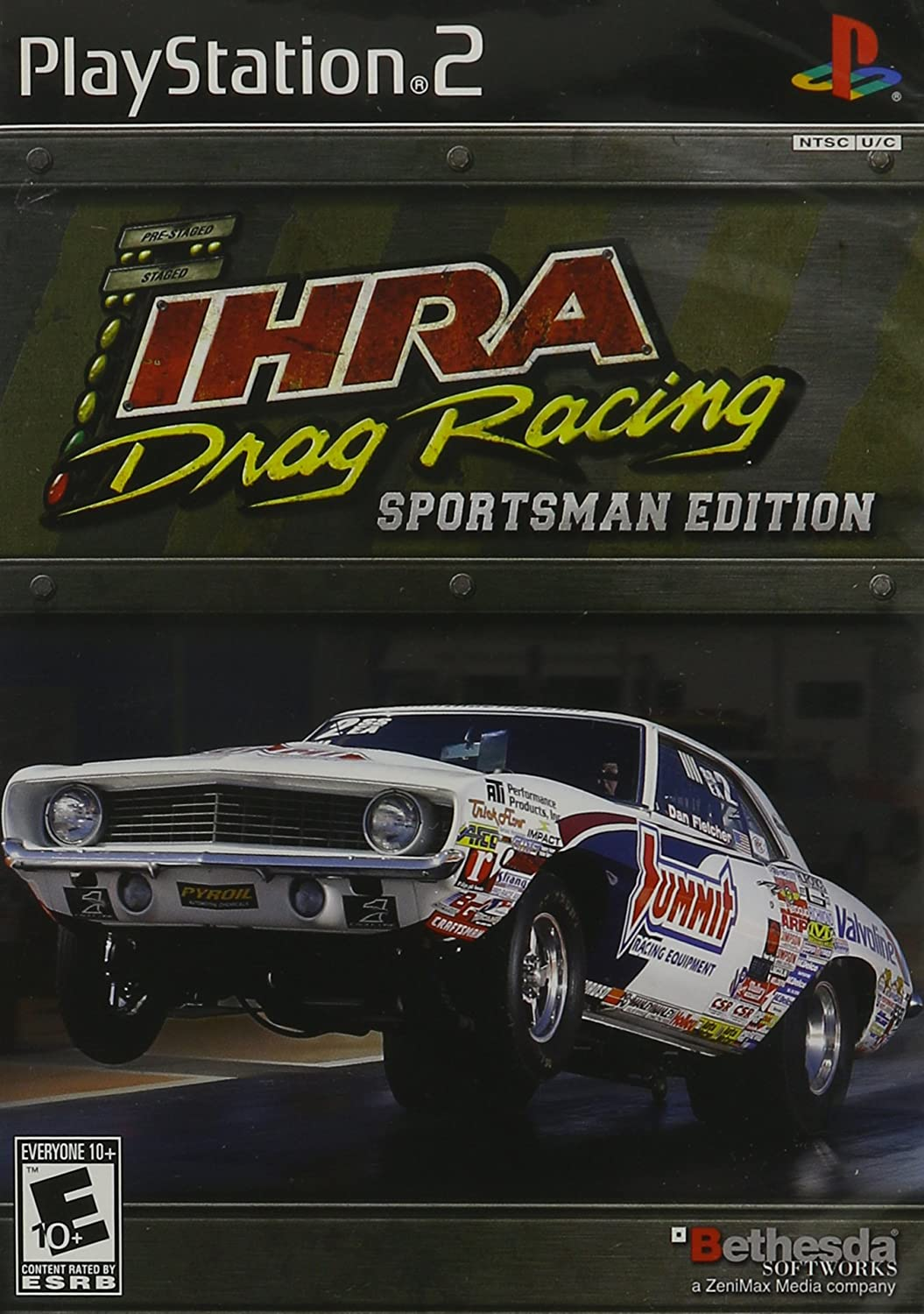 Amazon com: IHRA Drag Racing Sportsman Edition: Video Games