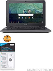 Acer Chromebook 11 (C732) Screen Protector, BoxWave [ClearTouch Crystal (2-Pack)] HD Film Skin - Shields from Scratches for Acer Chromebook 11 (C732)