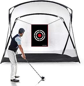 Amazon.com : Galileo Golf Hitting Net 9.3'(L) x5.3'(W) x6 ...