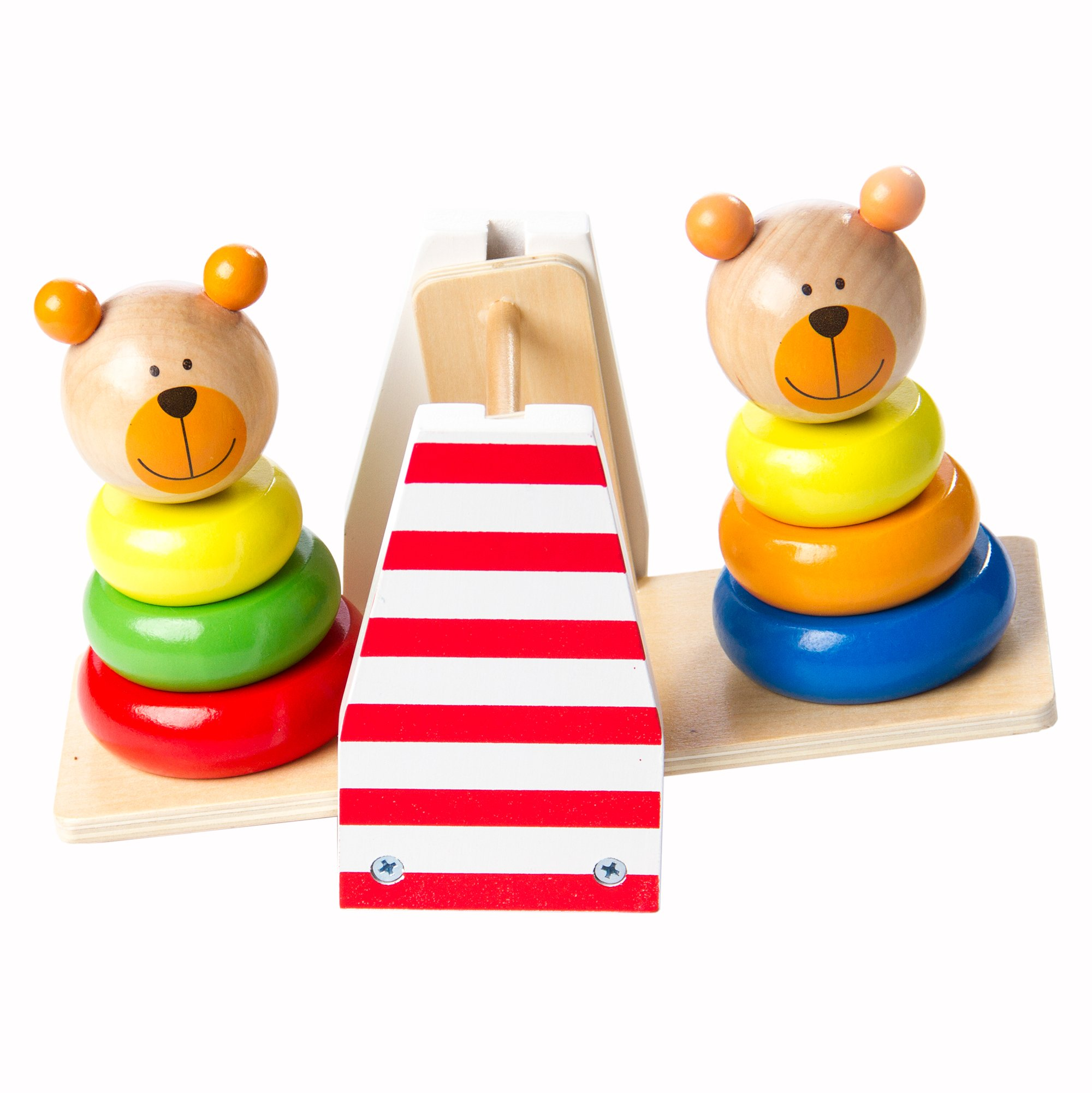 Fat Brain Toys Bear Balance - Balancing Bear Buddies