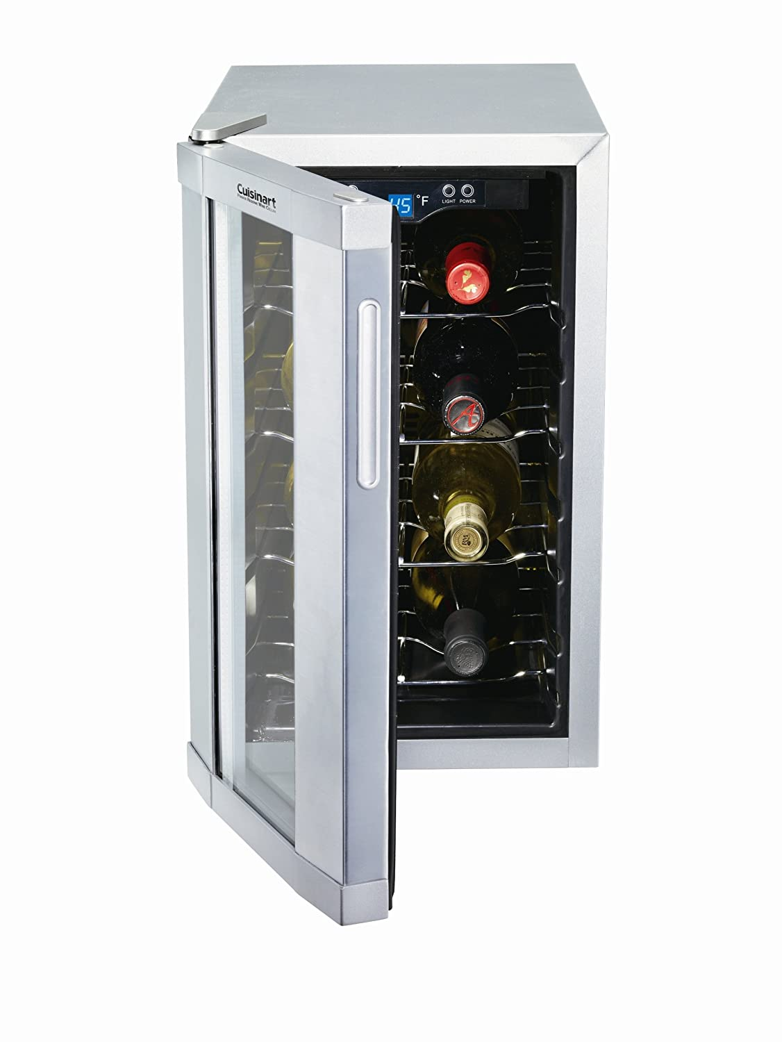 Amazon.com Cuisinart CWC-800 8-Bottle Private Reserve Wine Cellar Stainless Finish Appliances  sc 1 st  Amazon.com & Amazon.com: Cuisinart CWC-800 8-Bottle Private Reserve Wine Cellar ...