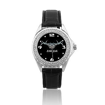 Amazon.com: Fashion Women Wrist Watch Leather Band PSC224 ...