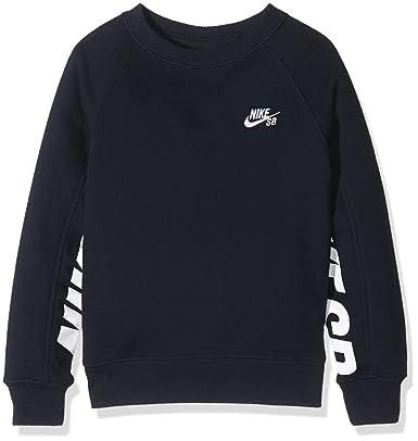 6926d809866d Nike SB Boy s Everett Graphic Crew Fleece Sweatshirt