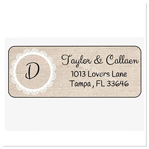 #659-MT-C Deliver To Address Stickers Custom Wedding Address Labels To: Wedding Address labels